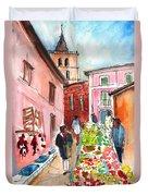 Sineu Market In Majorca 05 Duvet Cover