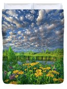 Sing For The Day Duvet Cover