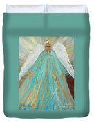 Sing Your Heart Out Angel Duvet Cover