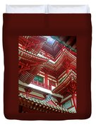 Singapore Buddha Tooth Temple Duvet Cover