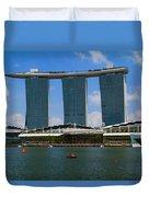 Singapore Ship Top Duvet Cover