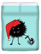 Singing And Dancing Evil Christmas Bug Duvet Cover