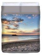 Singing Beach Manchester Ma Sunrise Island Duvet Cover