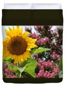Singing Oh Happy Day Duvet Cover