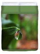 Single Drop Of Rain Water  Duvet Cover
