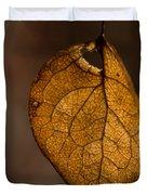 Single Fall Leaf Duvet Cover