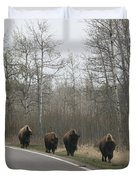 Single File Now Duvet Cover