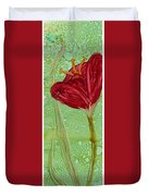 Single Poppy Duvet Cover