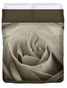 Single White Rose - 2 Duvet Cover