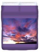 Singular Sunset Duvet Cover