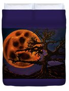 Sinister Moon Duvet Cover