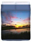 Sink Creek Sunset Duvet Cover