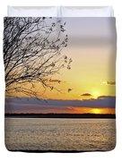 Sinking Sun Duvet Cover