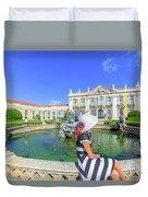 Sintra Travel Woman Duvet Cover