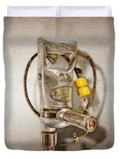 Sioux Drill Motor 1/2 Inch Duvet Cover