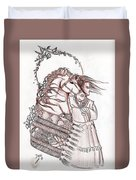 Sioux Wind Duvet Cover