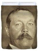 Sir Arthur Conan Doyle, 1859 -1930 Duvet Cover
