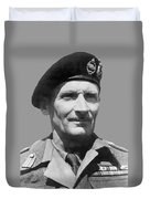 Sir Bernard Law Montgomery  Duvet Cover