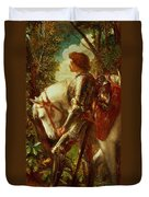Sir Galahad Duvet Cover