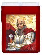 Sir Gawain Duvet Cover by Melissa A Benson