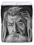 Sir Ian Mckellen As Gandalf The Grey Duvet Cover