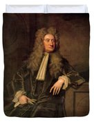 Sir Isaac Newton  Duvet Cover