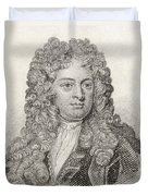 Sir John Vanbrugh, 1664 To 1726 Duvet Cover