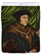 Sir Thomas More Duvet Cover