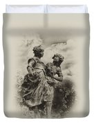 Sisters Duvet Cover by Bill Cannon