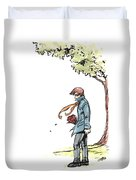 The Site Visitor Duvet Cover