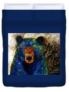 Sitting And Waiting Duvet Cover