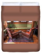 Sitting Area At Frank Lloyd Wright Home And Studio Duvet Cover