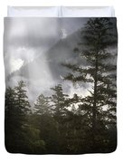 Siuslaw National Forest Duvet Cover