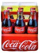 Six Pack Of Cokes Duvet Cover