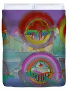Six Visions Of Heaven Duvet Cover