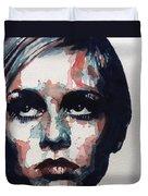 Sixties Sixties Sixties Twiggy Duvet Cover