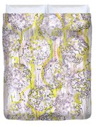 Size Exclusion Chromatography Duvet Cover
