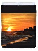 Sizzling Sunset Duvet Cover