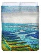 Skaftafell Floodplain Duvet Cover