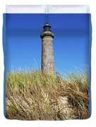 Skagen Denmark - Lighthouse Grey Tower Duvet Cover