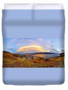 Skaha Sunset Duvet Cover