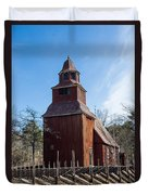 Skansen Church Duvet Cover