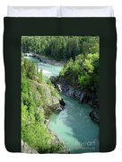 Bulkley River Canyon Duvet Cover