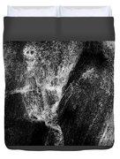 Skeleton And Goblin Water Rock Duvet Cover