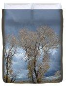 Skeleton Trees Duvet Cover