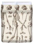 Skeletons Duvet Cover