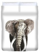 Sketch Elephant Duvet Cover