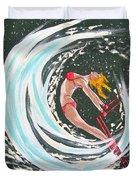 Ski Bunny Duvet Cover
