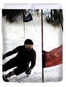Ski Racer 2 Duvet Cover