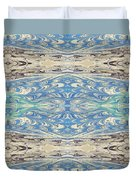 Skies And Seas Duvet Cover